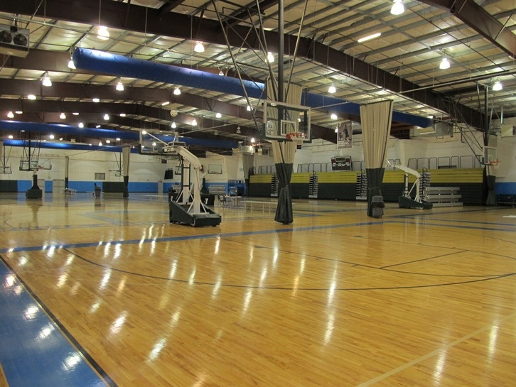 Beaverton hoop ymca is home to six full size suspended