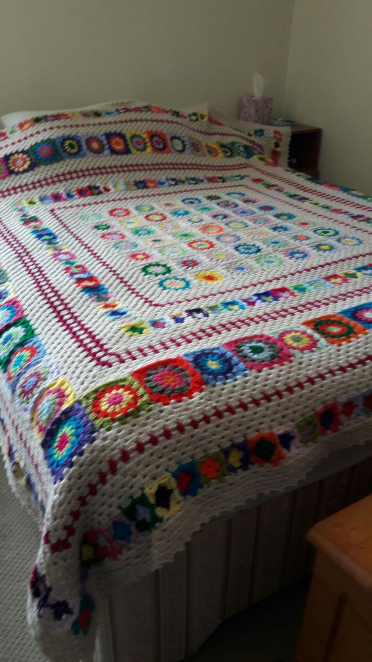 "My ""fallen from"" grace blanket"