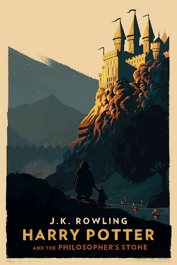 Olly Moss Unveils A Stunning Series Of Official 'Harry Potter' Posters