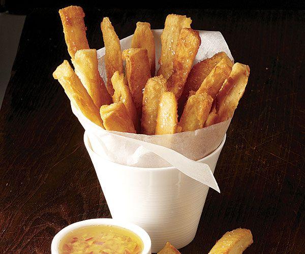 Yuca Fries with Garlic Mojo