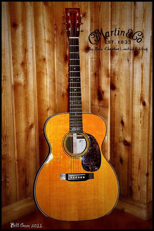 Martin Guitar - Eric Clapton Limited Edition...I know a certain someone with one of these!!