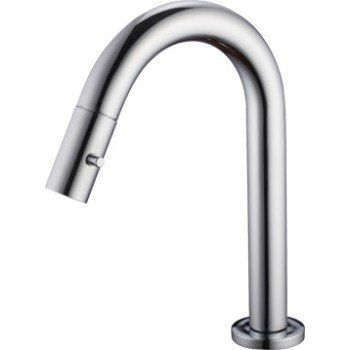Robinet de lave-mains eau froide chromé Minimal | Leroy Merlin