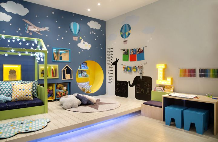 Such a fun room!
