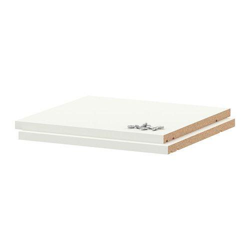 IKEA - UTRUSTA, Boden, weiß, 40x37 cm, , Inklusive 25 Jahre Garantie. Mehr darüber in der Garantiebroschüre.Böden mit kratzfester, pflegeleichter Melaminoberfläche.Die verstärkten Böden sind besonders stabil konstruiert und 18 mm stark.