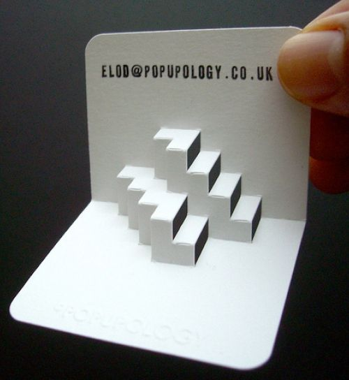 Cool 3D Business Cards Ideas
