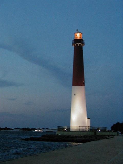Barnegat lighthouse on Long Beach Island, NJ....where I fell in love w/ lighthouses
