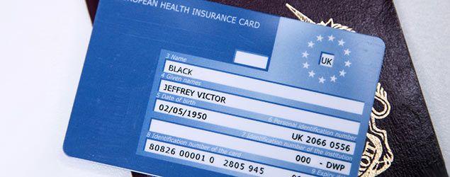 European Health Insurance Card, or EHIC (Rex)