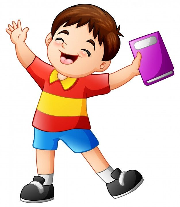 Nino Feliz De Dibujos Animados Sostenien Premium Vector Freepik Vector Libro Mano Carac Ninos Felices Dibujos Ninos Felices Imagenes De Ninos Felices