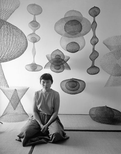 #ruthasawa - Photograph by Nat Farbman for LIFE