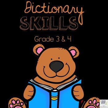 Dictionary Skills is a resource is for Grade 3 and Grade 4. These educational worksheets are a great supplemental resource for grammar teachers. Anchor charts, worksheets, evaluation, and all backline masters included.