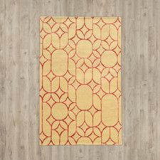 Cheshunt Hand-Tufted Beige/Brown Area Rug