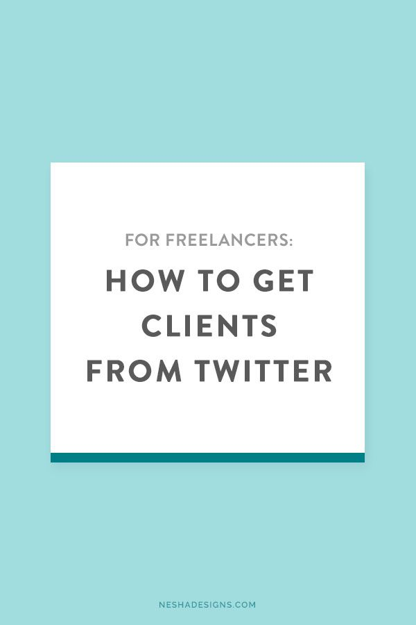 How to get clients from Twitter