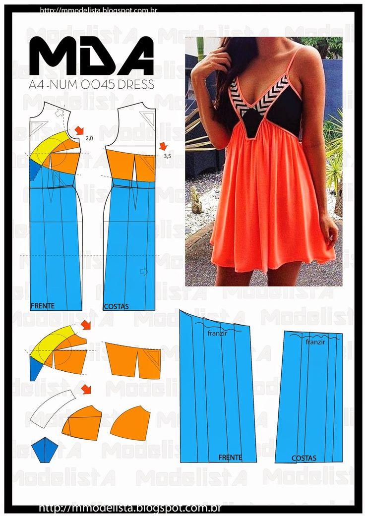 ModelistA: A4 NUM 0045 DRESS