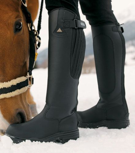 Mens Mountain Horse Rimfrost Tall Winter Riding Boots