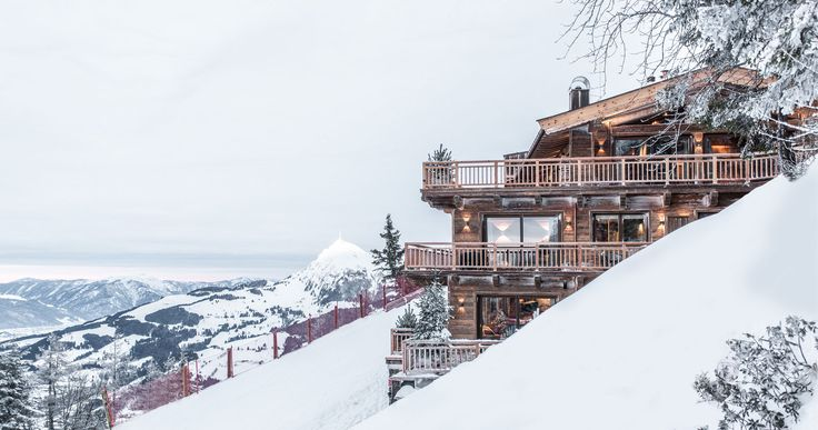 Winterurlaub in Kitzbühel in der exklusiven Hahnenkamm Lodge