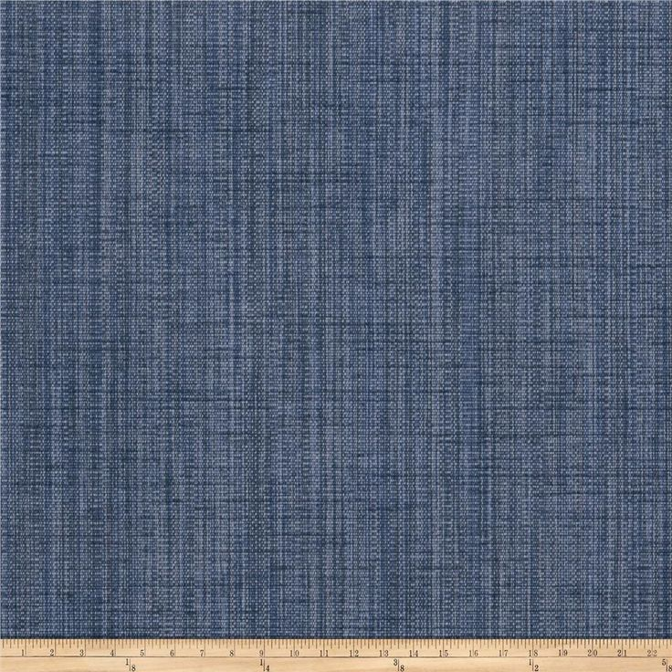 Fabricut Driftwood Chenille Denim from @fabricdotcom  This lovely chenille fabric is  perfect for valences, toss pillows, and upholstery projects like ottomans and headboards.