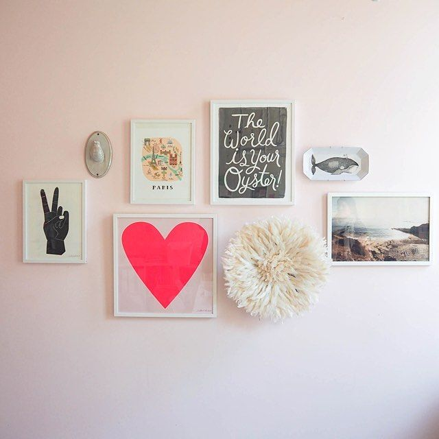 Ask a designer... We shared some fun gallery wall tips over on our stories today. Make sure you check them out! Click the link in our bio to shop the look