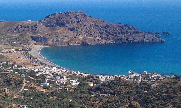 The great sandy beach of Plakias in Rethymno!