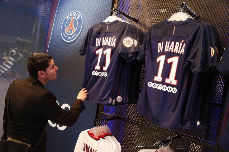 Launch of the new Paris Saint-Germain jersey