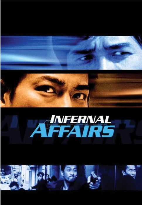 Infernal Affairs, directed by Andrew Lau and Alan Mak, 2002