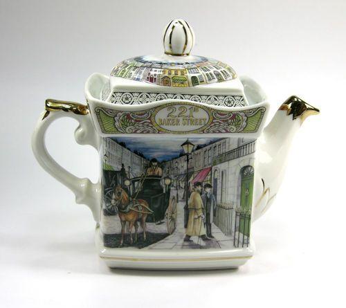 James sadler baker street teapot sherlock holmes and dr - Johnson brothers vajilla ...