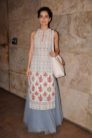 #KanganaRanaut in #AnjuModi.. o my!! i m in Love!! this outfit is all summer + tea party! <3 <3 <3