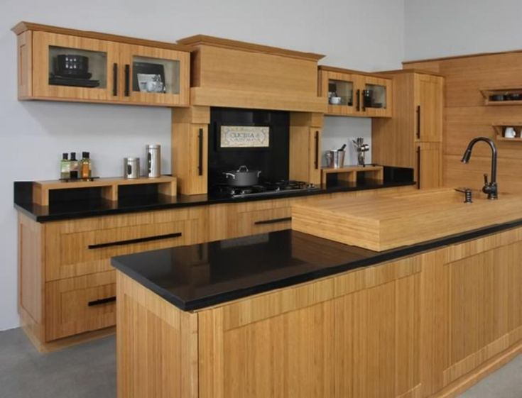 1000 images about birch kitchen cabinets on pinterest for Bamboo kitchen cabinets lowes