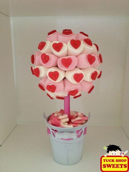 Prachtige snoepbomen om zelf te maken en cadeau te geven.