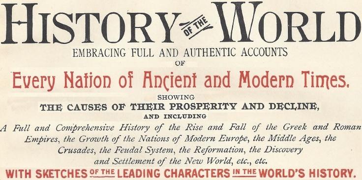 World History Teaching Materials.  Homework worksheets, etc.  Nice things.