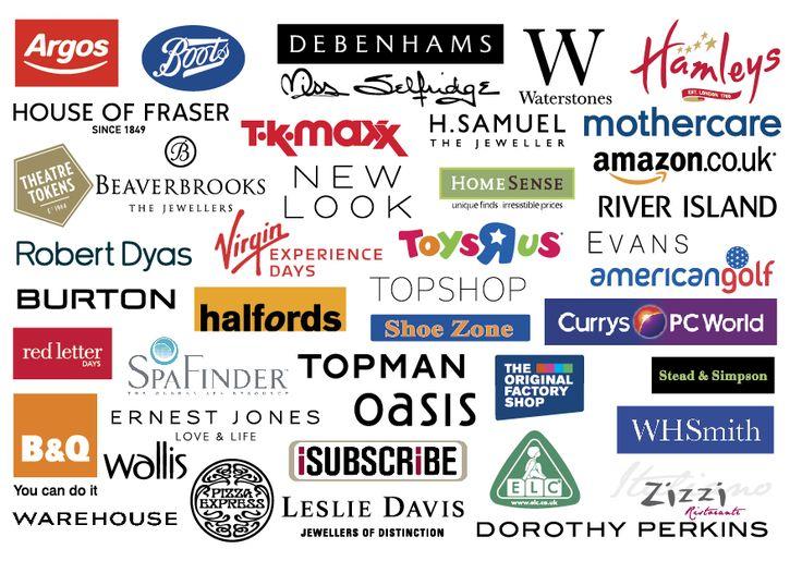 Uk High Street Logos Debenhams Boots Perfume Samples Mothercare