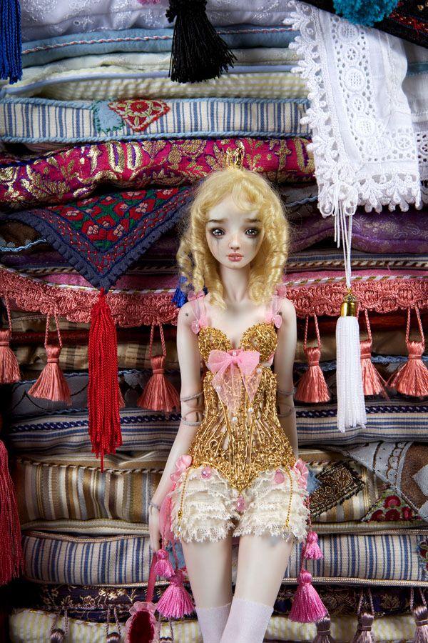 Princess and the Pea - Enchanted Doll by Marina Bychkova