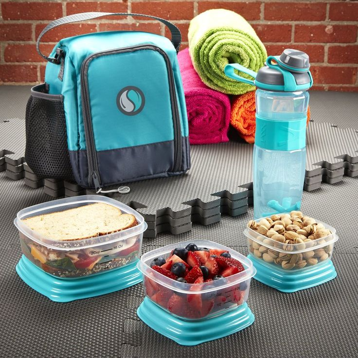 The Fit & Fresh Meal Prep Starter Kit is a great all-in-one meal management solution for those just starting to prep meals, or those who simply want to brin