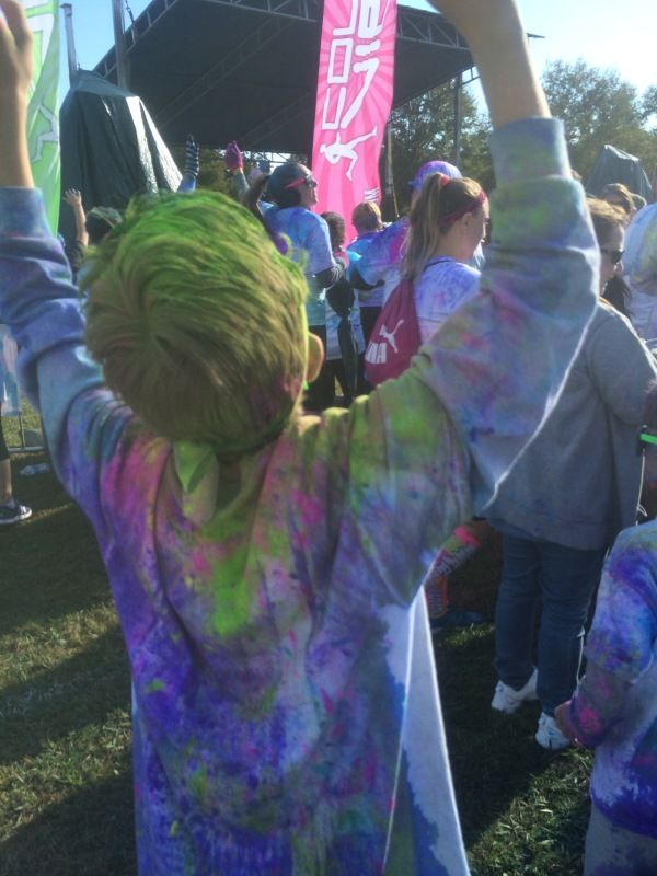 Color run tips. #ColorVibe #running