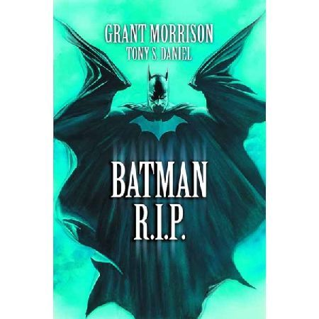 DC Comics Batman Rip Paperback Written by Grant Morrison Art by Tony Daniel and Sandu Florea Cover by Alex Ross The death of The Dark Knight is now in trade paperback featuring BATMAN 676-683! With Bruce Wayne out of the picture T http://www.MightGet.com/january-2017-13/dc-comics-batman-rip-paperback.asp