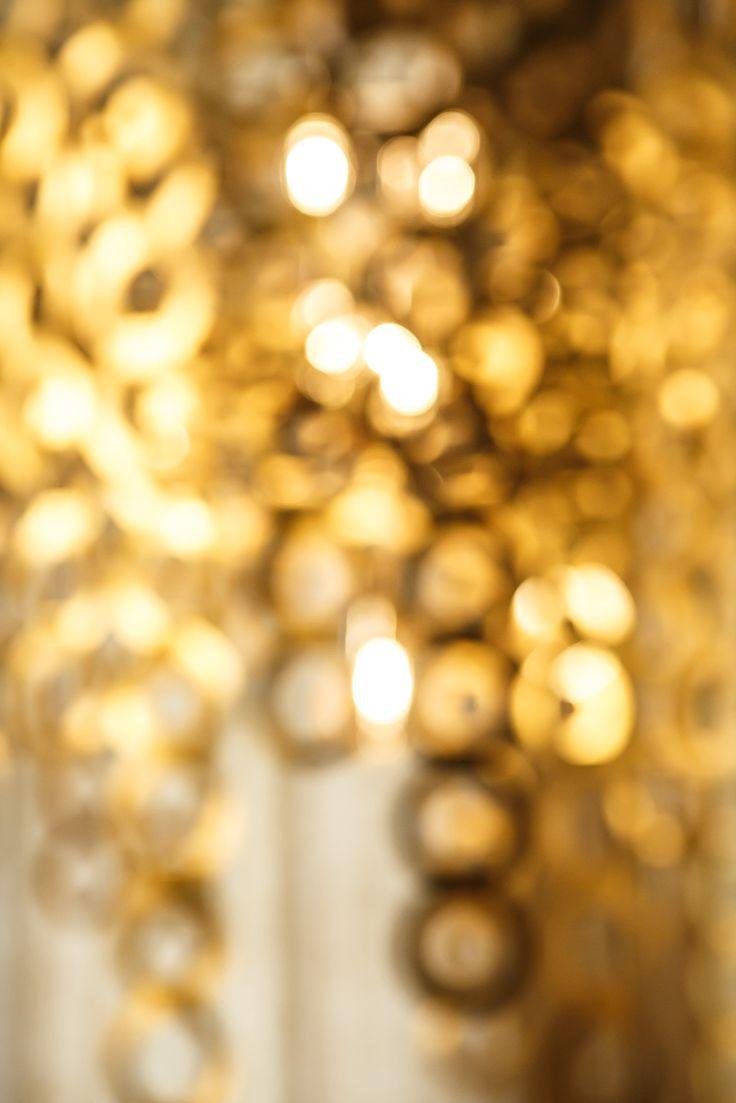 Dazzling brass Surilight chandelier