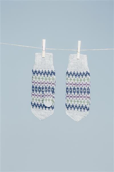 Tema 42: Modell 30 Elgseter votter #strikk #knit #Elgseter