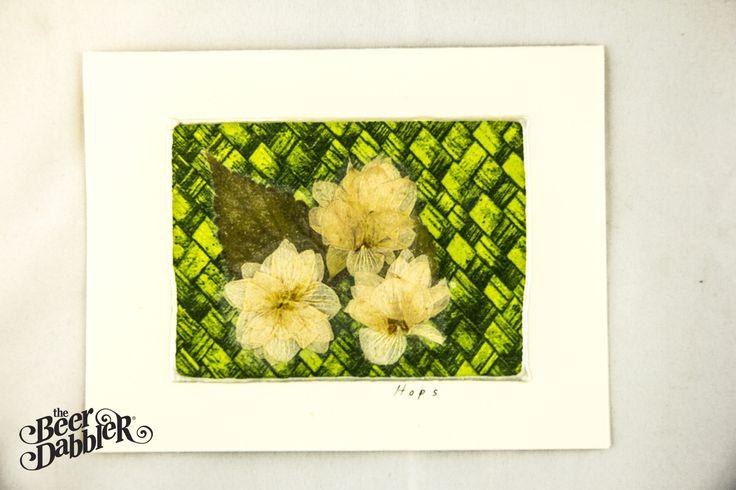 Hop Flower Card