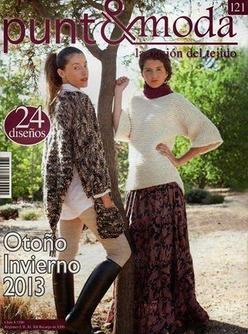 Revista punto&moda 121
