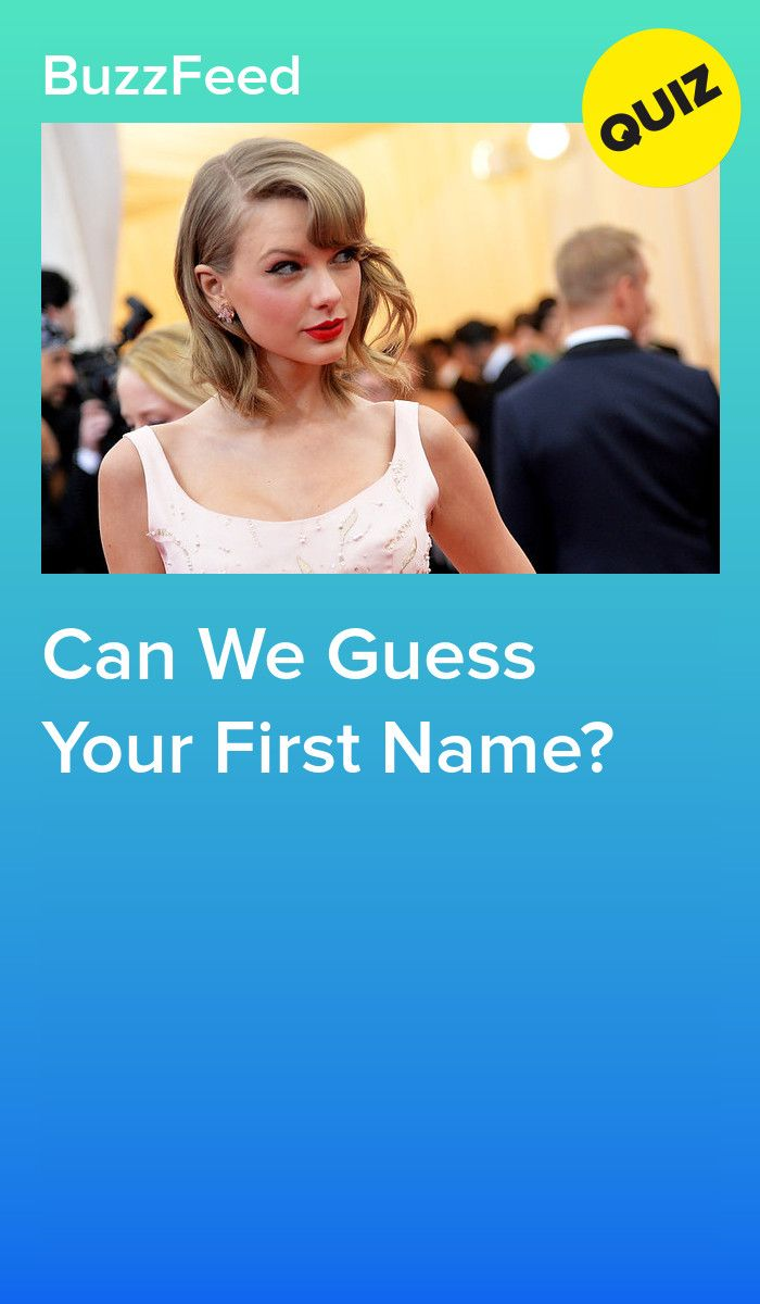 Can We Guess Your First Name? | Awesome/Cool | Guess my name