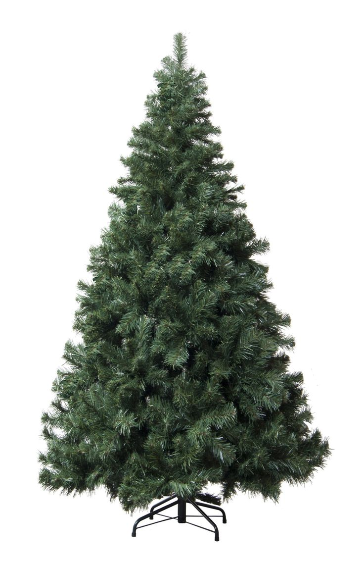 7' Green Douglas Fir Artificial Christmas Tree with Stand
