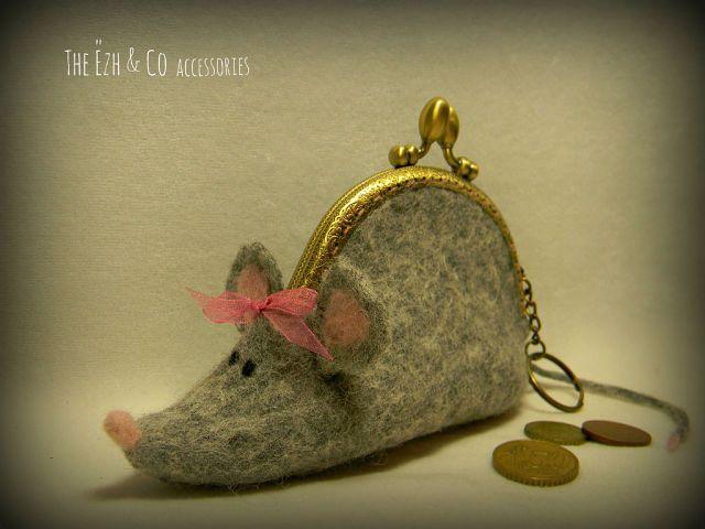 .mouse coin purse