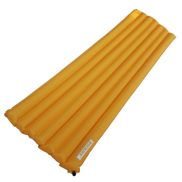 64.45$  Buy now - http://aliz91.worldwells.pw/go.php?t=2034141242 - Rockies Single183cm x 55cm Thermal Resistance  Water proof Built-in inflator Pump Cushion Sleeping Mattress Pad 64.45$