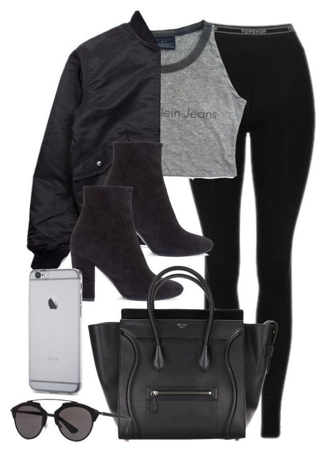 """Sin título #11846"" by vany-alvarado ❤ liked on Polyvore featuring Topshop, BOY London, Giuseppe Zanotti and Christian Dior"