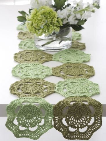 39 besten Placemats and table runners Bilder auf Pinterest | Häkeln ...