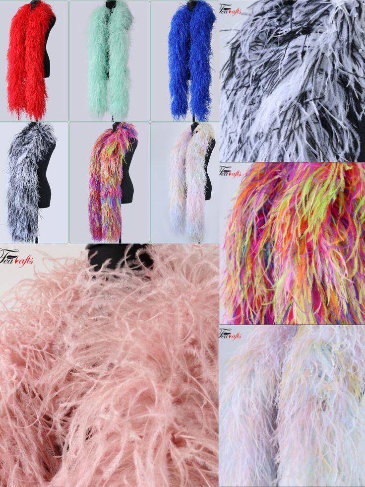 Custom 10ply Big And Fluffy Ostrich Feather Boas In 2020 With Images Ostrich Feathers Ostrich Feather