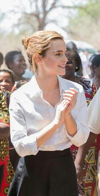 Emma Watson in Malawi with UN Women 2016