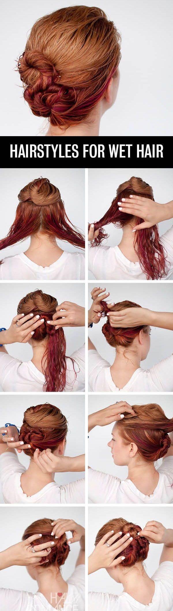 Strange 1000 Ideas About Wet Hair Dos On Pinterest Hair Dos Wet Hair Short Hairstyles For Black Women Fulllsitofus