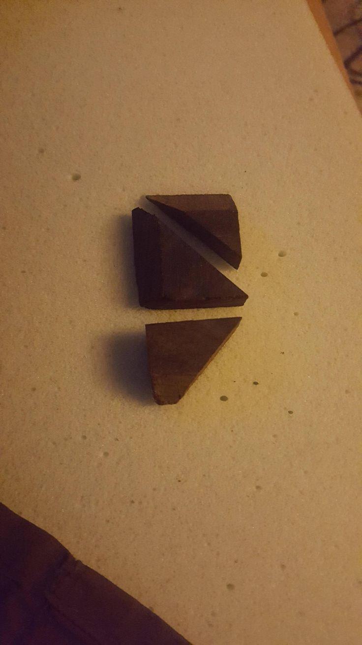 3 pieces of scrap ebony  3 hours = 1 Necklace Pendant http://ift.tt/2jr992p