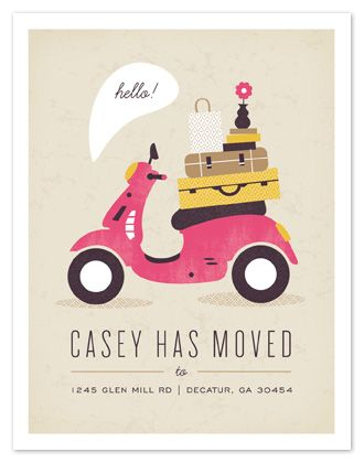 Moving invitation: Graphic Design, Kristen Smith, Moving Announcements, Illustration, Minted Com, Card, Move Moving, Modern Moving