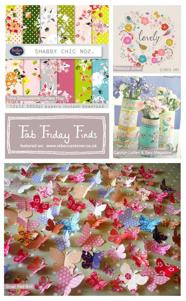 Fab Friday Finds - Week 1 - Spring - on Rebecca Stoner www.rebeccastoner.co.uk with @Carolyn Rafaelian Letten @Sarah Mandell White Magazine @Christina & Jones @trina bates Esquivelzeta